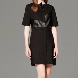 Phillip Lim x Targer Black Leather Dress